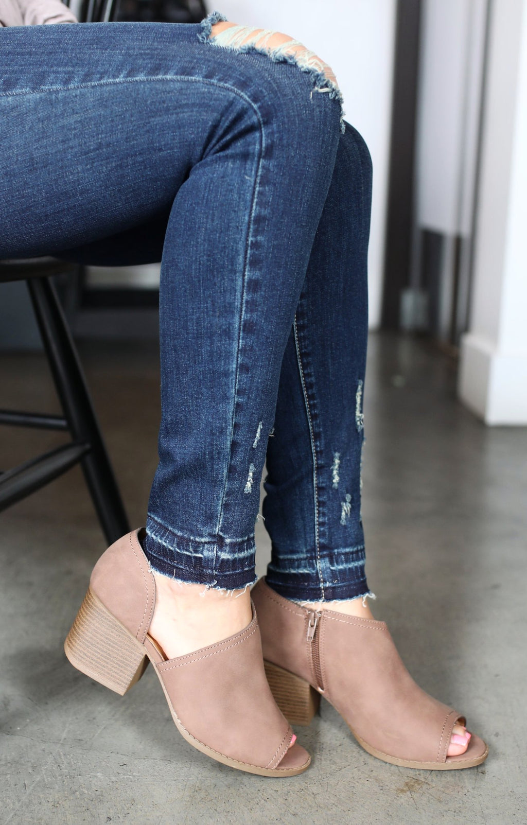 Core Booties: Nutmeg - ShopSpoiled