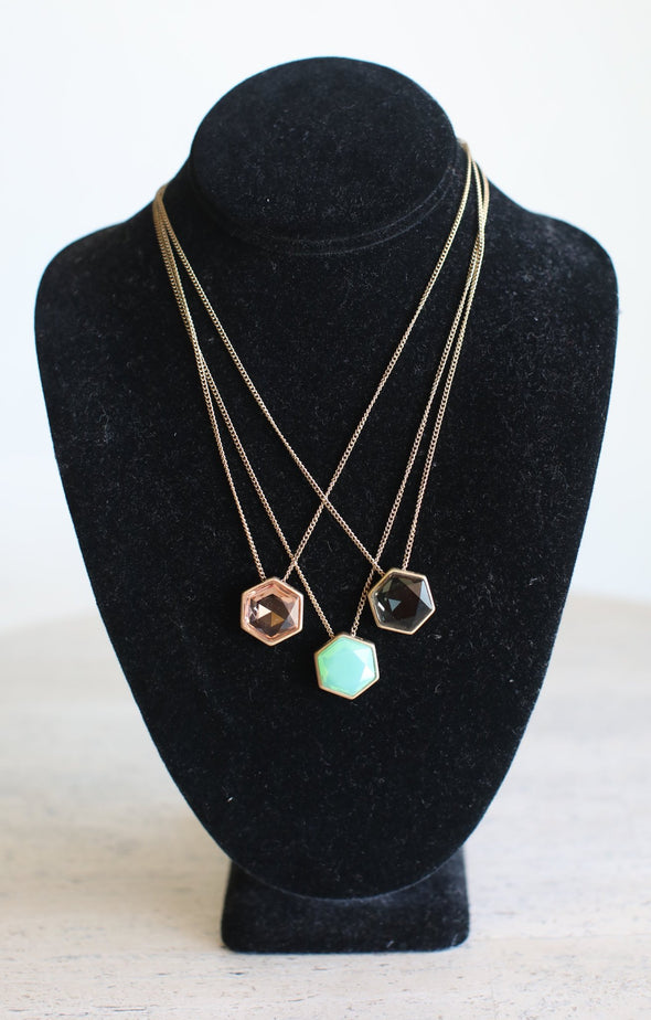Stone Necklace - ShopSpoiled