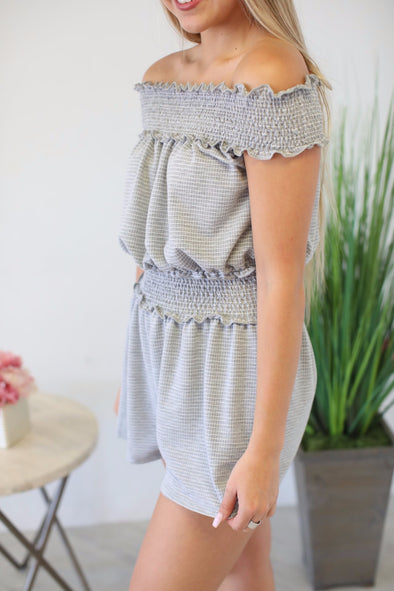 Lazy Days Romper - ShopSpoiled