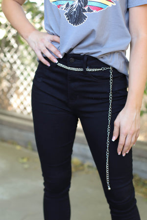 Bonded Chain Link Belt - ShopSpoiled