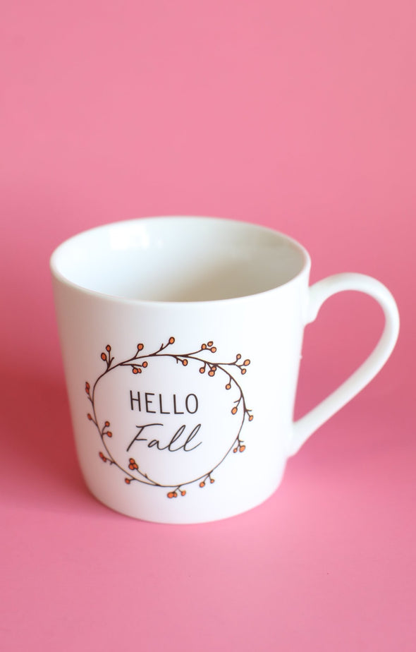 Hello Fall Mug - ShopSpoiled