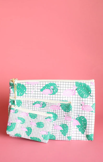 Flamingo Bag Set - ShopSpoiled