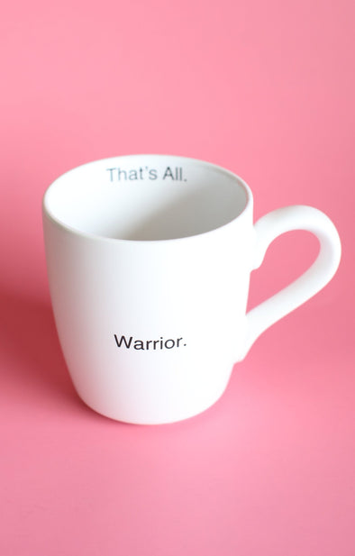 Warrior coffee mug - ShopSpoiled