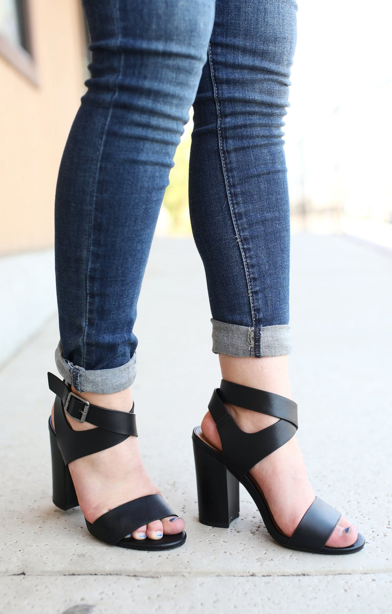 Soprano Heels: Black - ShopSpoiled