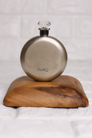 SWIG 5oz Round Flask: Champagne - ShopSpoiled