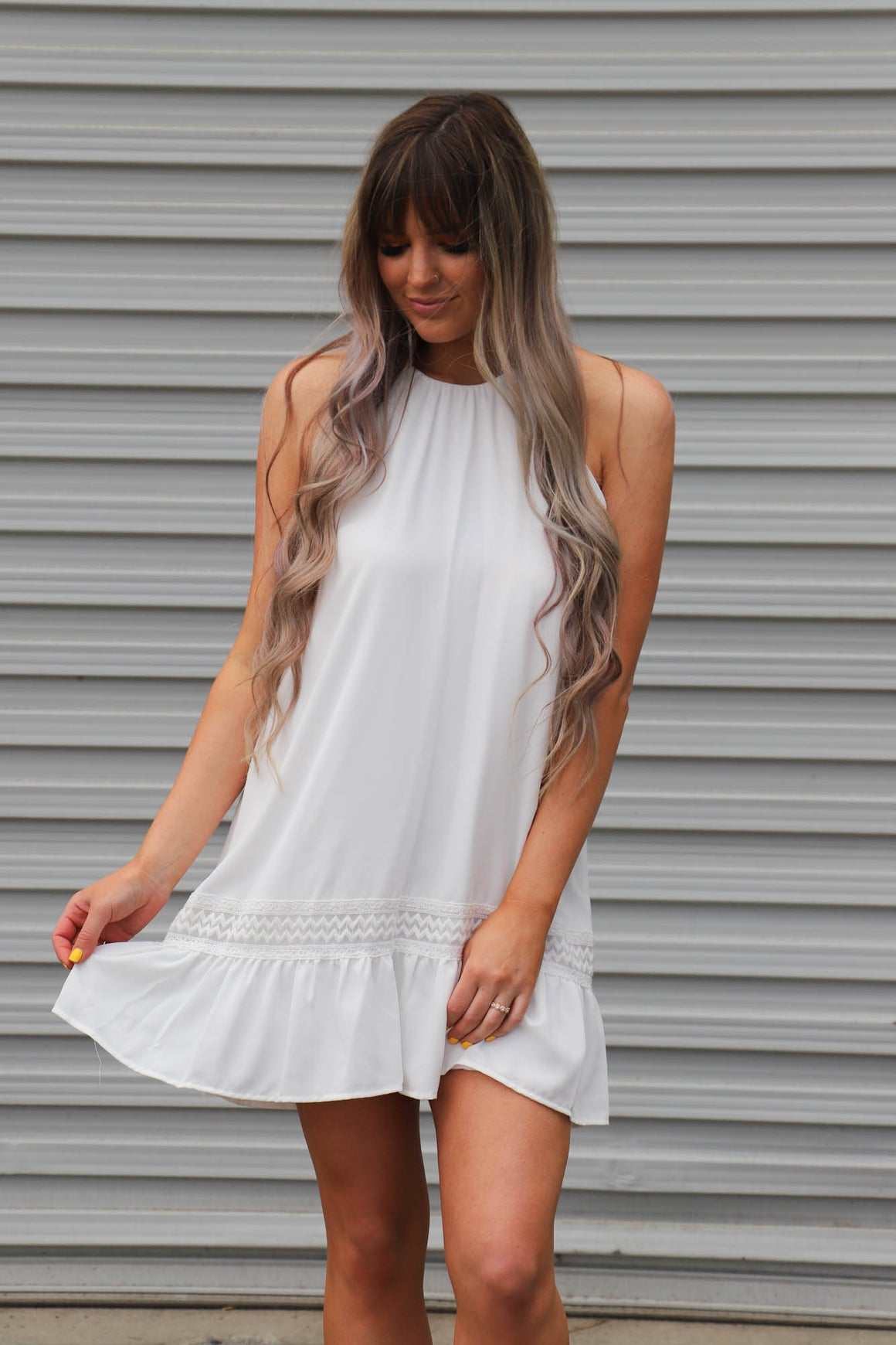 Days Like This Dress: White - ShopSpoiled