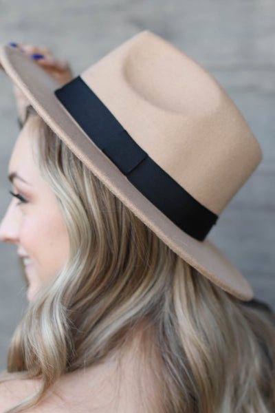 Panama Babe Hat: Tan - ShopSpoiled