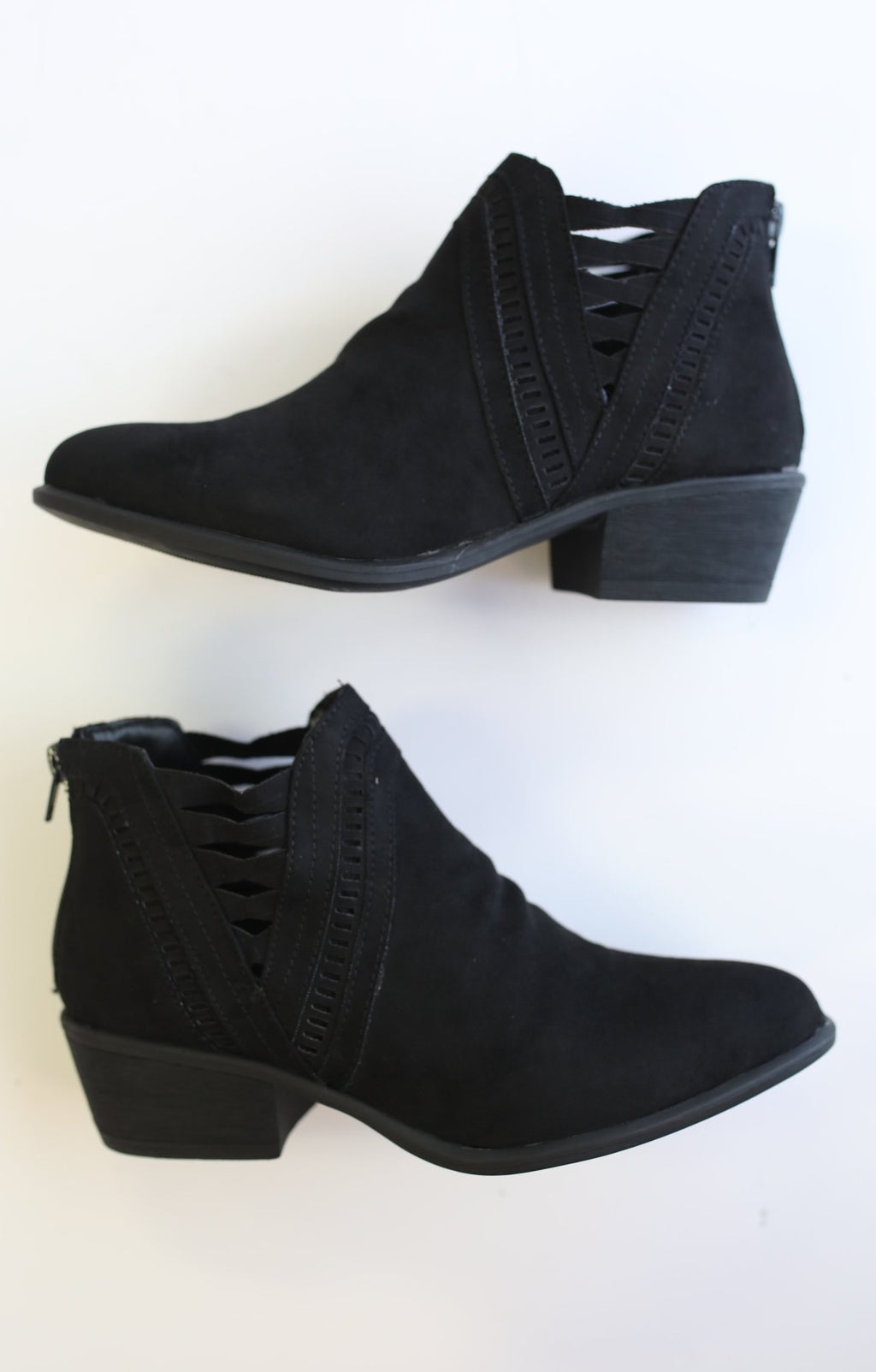 Nikki Bootie: Black - ShopSpoiled