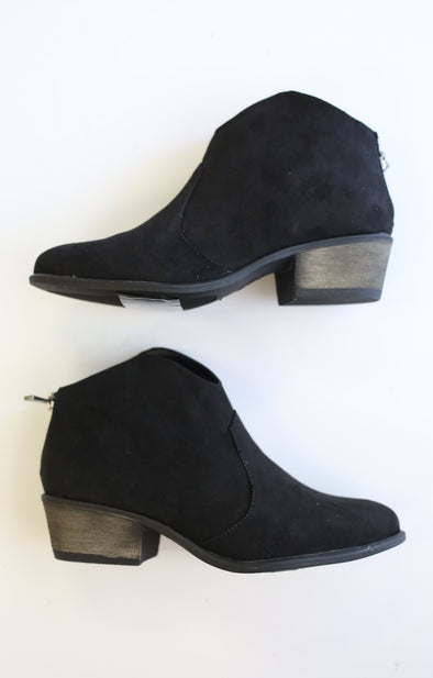 Sadie Bootie: Black - ShopSpoiled