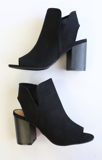 Taste Bootie: Black - ShopSpoiled