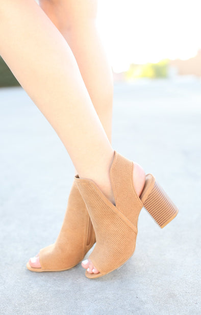 Taste Bootie: Tan - ShopSpoiled