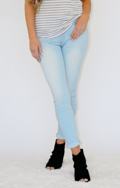 Cheryl Light wash Jeans - ShopSpoiled