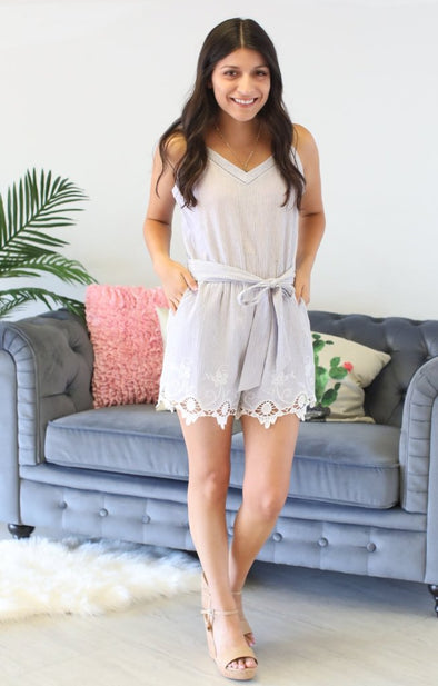 Ocean View Romper - ShopSpoiled