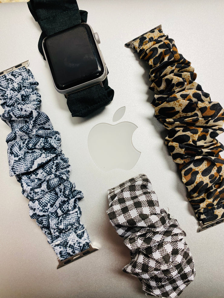 Scrunchie Apple Watch Band - Shop Spoiled Boutique
