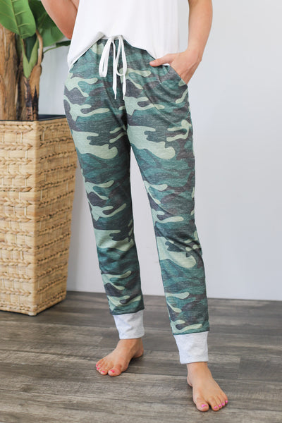 Hidden Secret Joggers: Dark Camo - ShopSpoiled