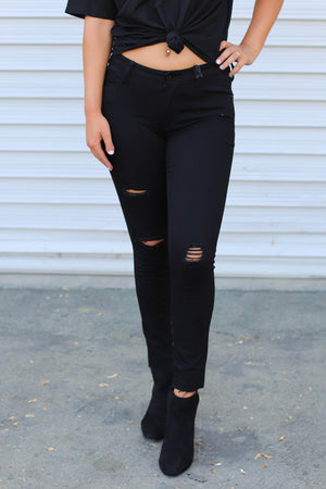 Paisley Skinny Jeans - ShopSpoiled