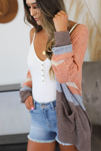 Carefree Days Cardigan Sweater - Shop Spoiled Boutique