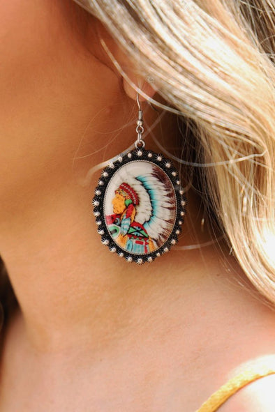 Love My Tribe Earrings - ShopSpoiled