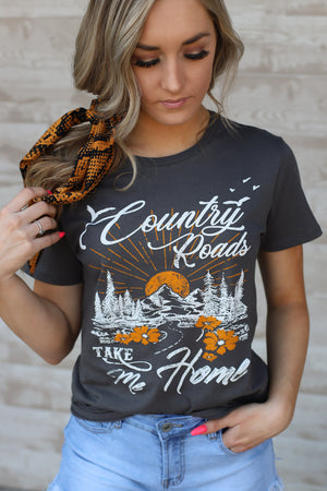 Country Roads Tee - ShopSpoiled