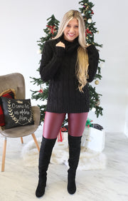 Latest Craze Sweater: Black - ShopSpoiled