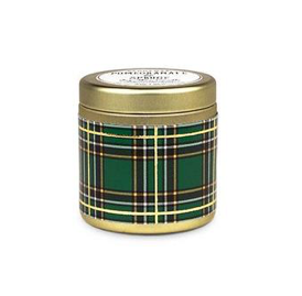 Tartan 3oz Pomegranate & Spruce Candle - ShopSpoiled