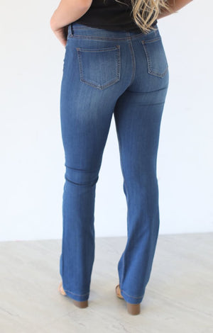 Plain Jane Kickboot Jeans - ShopSpoiled