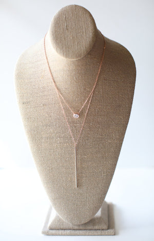 Relatable Necklace: Rose Gold - ShopSpoiled