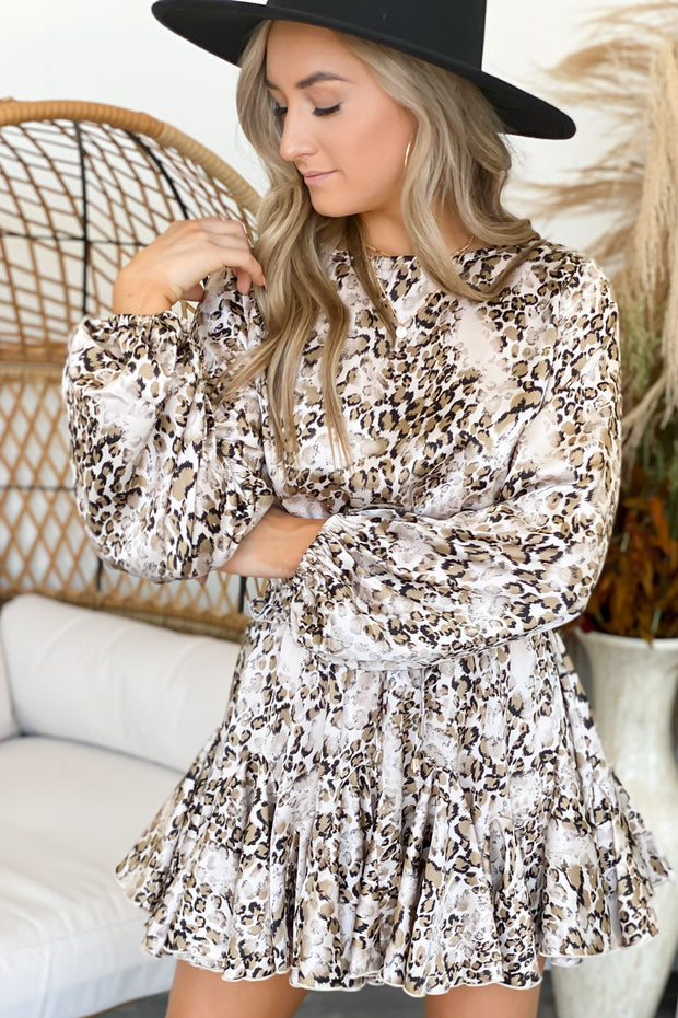 Lust Or Love Leopard Dress - ShopSpoiled