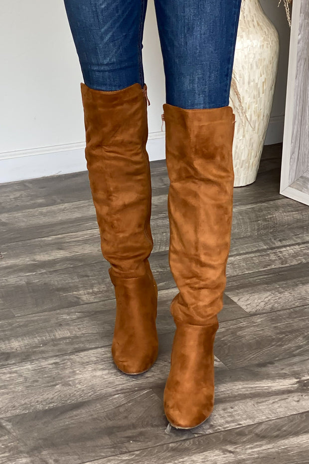 Whiskey Girl Boots: Tan - ShopSpoiled
