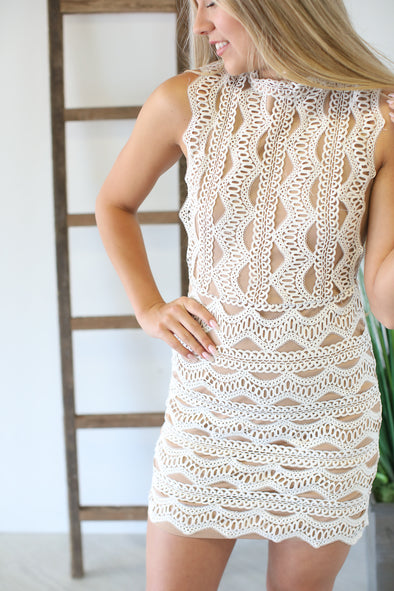 Treasure Island Lace Dress - ShopSpoiled