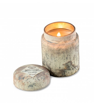 Mountain Fire Glass Candle: Manor House - ShopSpoiled