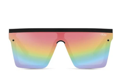 Quay Hindsight Blk/rainbow - ShopSpoiled