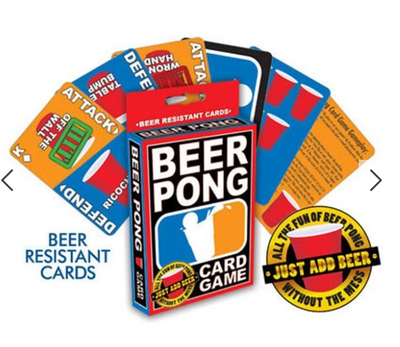 Beer Pong Card Game - ShopSpoiled