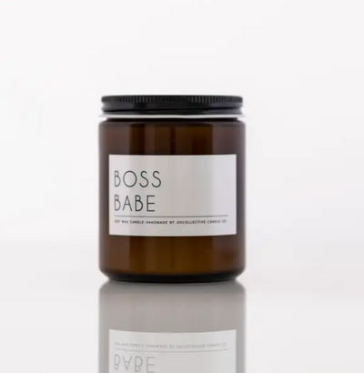 Boss Babe 8oz Candle - Shop Spoiled Boutique