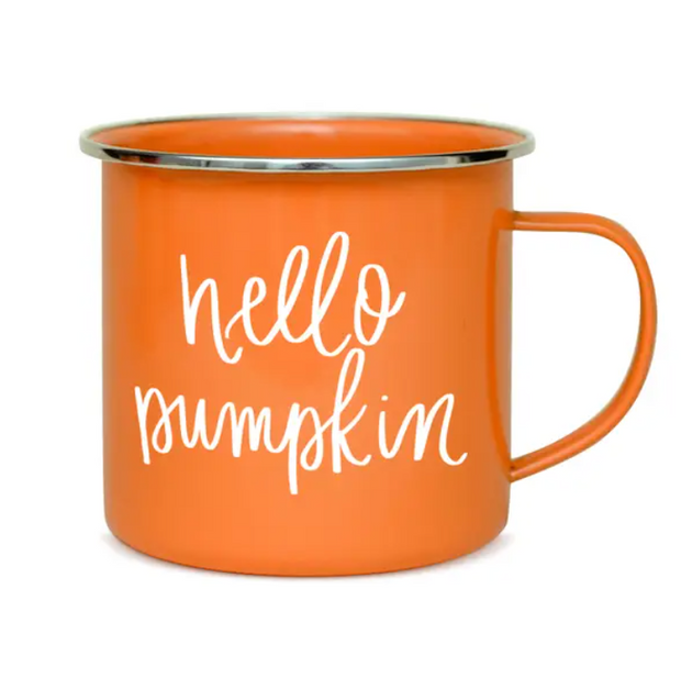 Hello Pumpkin Mug - ShopSpoiled
