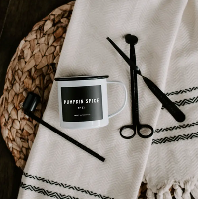 Pumpkin Spice Mug Candle - ShopSpoiled