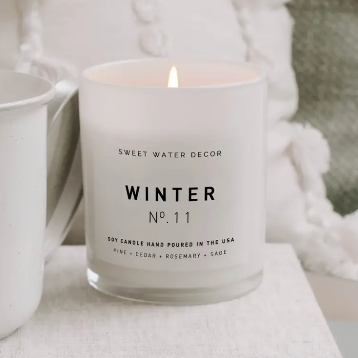 Winter Candle - ShopSpoiled