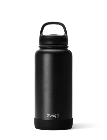 Swig Matte Black Bottle - ShopSpoiled
