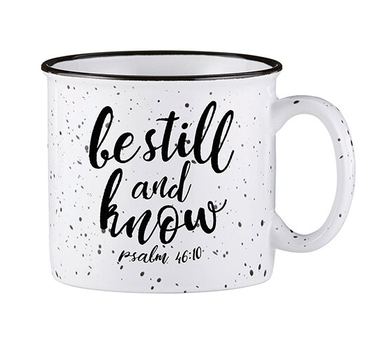Be Still Camp Mug - ShopSpoiled