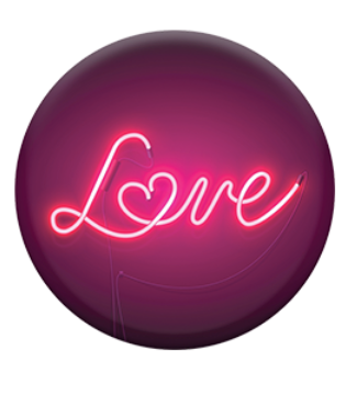 Neon Love Sign Popsocket - ShopSpoiled