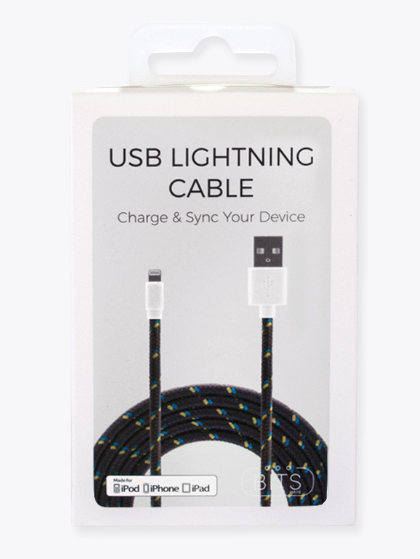 Charcoal lighting Cable - ShopSpoiled