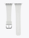 Silver Glitter Apple Watch Band - ShopSpoiled