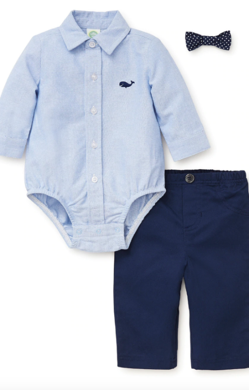 Whale Woven Pant Set - ShopSpoiled