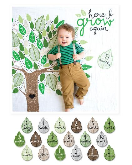 Milestone Blanket/Cards: Grow - ShopSpoiled