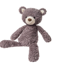 Grey Putty Bear Small - ShopSpoiled