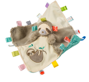 Taggies Molasses Sloth Character Blanket - ShopSpoiled