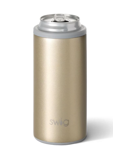 Swig Skinny Can Cooler: Champagne - ShopSpoiled