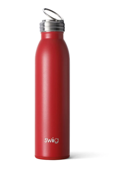 Swig 20oz Bottle: Red - ShopSpoiled