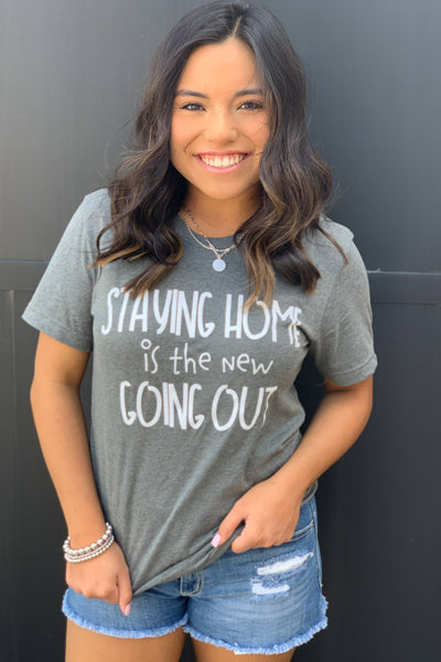 Staying home tee - ShopSpoiled