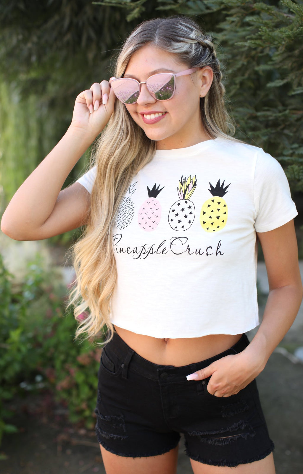 Pineapple Crush Crop - ShopSpoiled